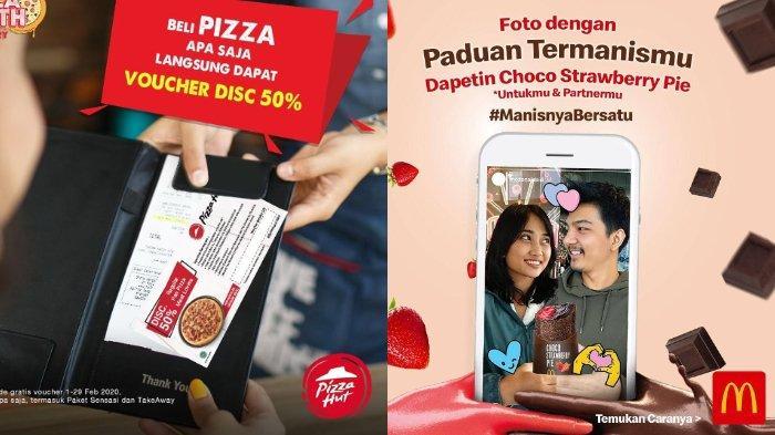7 Diskon dan Promo Spesial Valentine 2020 dari Burger King, Mc Donald's, Pizza Hut hingga Alfamart