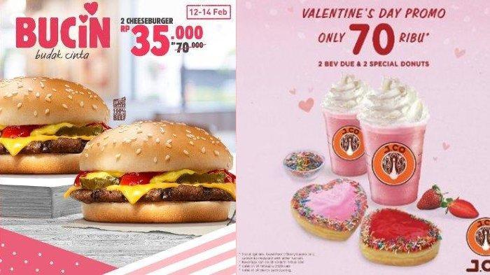 Promo Hari Valentine 2020, Nikmati Paket Bucin & Buat yang Jomblo di Burger King hingga Pizza Hut