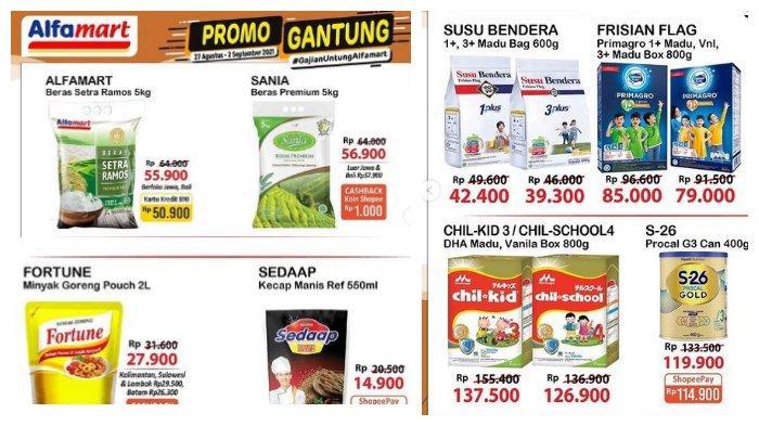 Promo Gantung Alfamart.