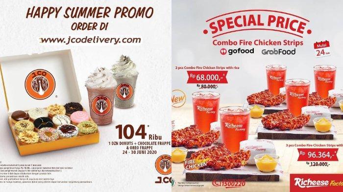 Promo Juni 2020: Promo Happy Summer J.CO hingga Harga Spesial Richeese Factory