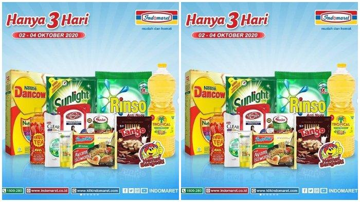 Katalog Promo Indomaret Berlaku 2-4 Oktober 2020, Tropical Minyak Goreng 2 Liter Cuma Rp 23.900