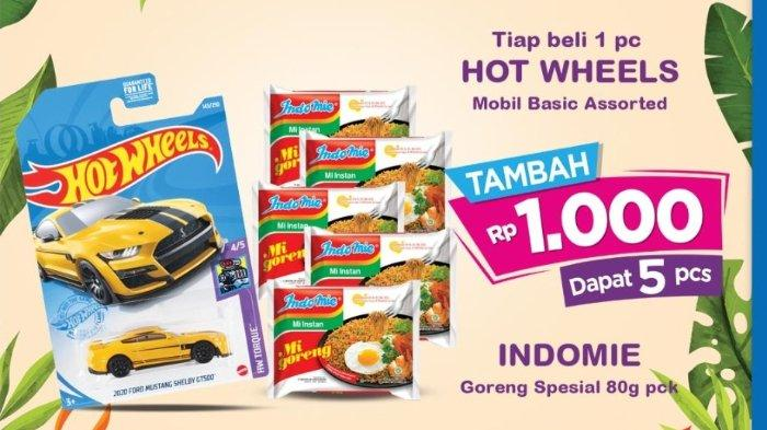 Katalog Promo Indomaret sampai 30 November 2020, Beli Hot Wheels Tambah Seribu Dapat 5 Indomie
