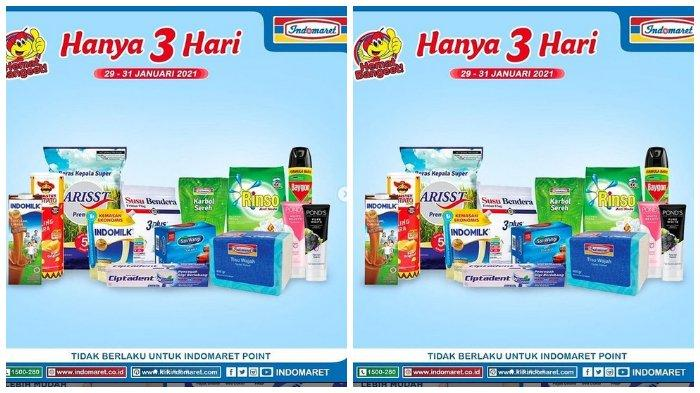 Katalog Promo Indomaret Hari Ini: Nikmati Layanan Belanja Online via klikindomaret.com