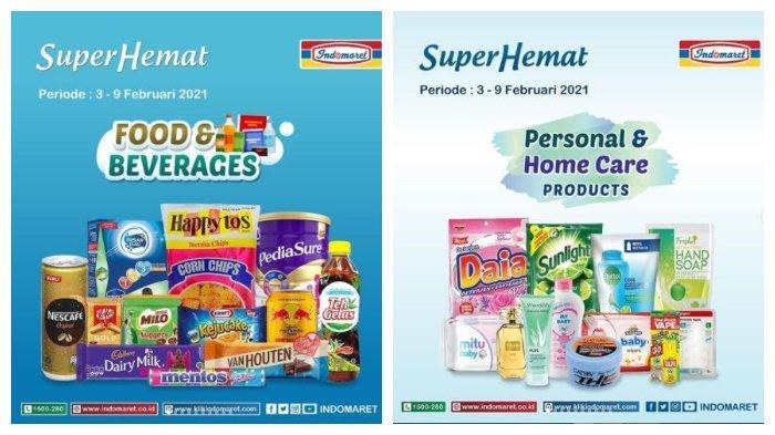 Promo Indomaret Super Hemat Hari Ini, 9 Februari 2021: Ada Kecap, Susu, Teh, Kopi hingga Snack