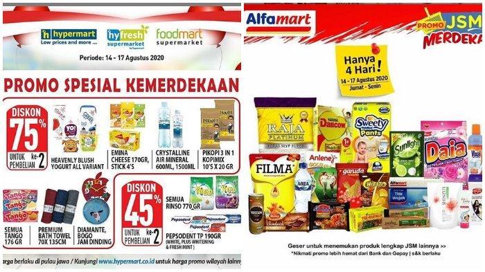 Katalog Promo Jsm 14 17 Agustus 2020 Di Hypermart Dan Alfamart Banyak Diskon Di Akhir Pekan Tribunnews Com Mobile