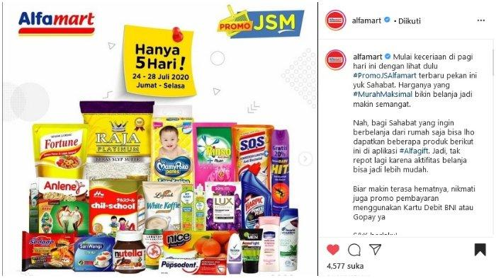 Promo JSM Alfamart 24-28 Juli 2020