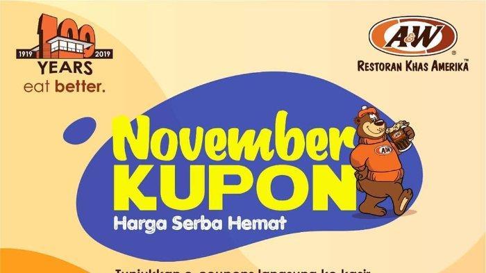 Promo Kupon A&W Restoran November 2019, Nikmati Chicken Mixbowl dan 3 Es Krim Hanya Rp 19 Ribu