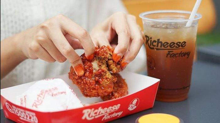 Promo Richeese Factory Khusus Hari Ini, Paket Combo Fire Chicken Diskon 50% Cuma 3 Jam