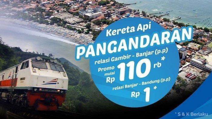 Jadwal Keberangkatan KA Pangandaran, Bandung-Banjar, Lengkap Tarif dan Tiket Promonya