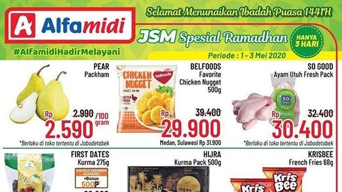 Promo Diskon Alfamidi Akhir Pekan Berlaku Cuma 3 Hari Potongan Harga Spesial Ramadhan Tribunnews Com Mobile