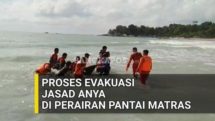VIDEO Detik-detik Penemuan Jasad di Pantai Matras, Korban Seorang Yatim Berusia 11 Tahun