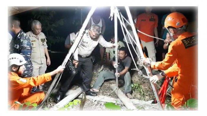 Kisah Ular Hitam Misterius Saat Evakuasi Jenazah Jhonny di Dalam Sumur Beberapa Kali Gagal