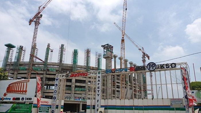 Pembangunan Jakarta Internasional Stadion Sudah Mencapai 48,8 Persen