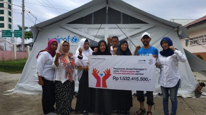 Manfaatkan Teknologi 3 Himpun Dana Rp 1,5 M Untuk Korban Bencana di Sulteng