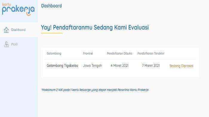Cek Pengumuman Kartu Prakerja Gelombang 13 di www.prakerja.go.id, Hanya Login dan Lihat Hasil