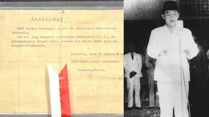 Isi Teks Proklamasi Kemerdekaan Indonesia 17 Agustus 1945, Dilengkapi Sejarah Perumusanya