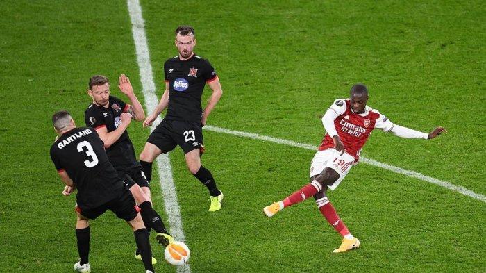 Hasil Liga Eropa, Tumbangkan Molde, Pasukan Muda Arsenal Pastikan Satu Tiket Babak 32 Besar