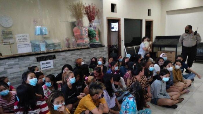 Puluhan PSK Belia dan Pria Hidung Belang Terjaring Penggerebekan di Hotel, Ada yang Reaktif Covid-19