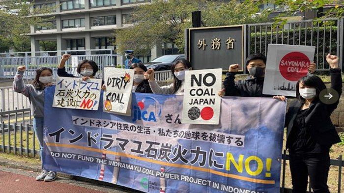 Protes Depan Kemenlu Jepang, LSM Minta Proyek Pembangkit Batubara di Indramayu Dihentikan