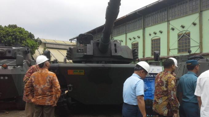 Medium Tank Buatan Pindad Banyak Dilirik Negara Asing