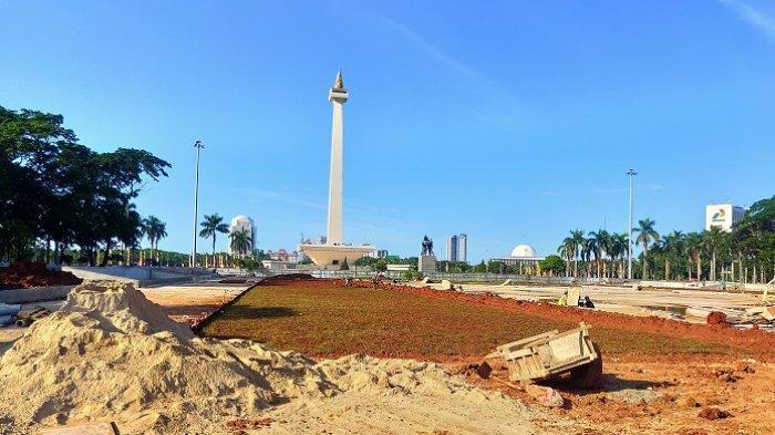 Proyek Revitalisasi Monas Selatan Dihentikan Mulai Besok, Ini Respons Pemprov DKI Jakarta