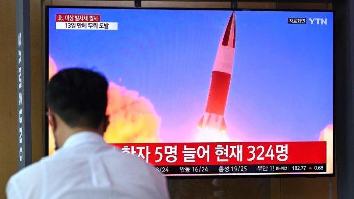 Korea Utara Menembakkan Proyektil Tak Dikenal ke Laut Jepang, Diduga Rudal Balistik