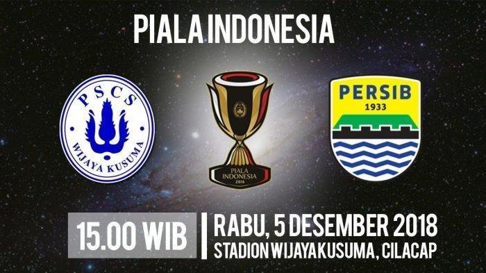 Prediksi & Link Live Streaming RCTI - Live Streaming PSCS Cilacap vs Persib Bandung 15.00 WIB!