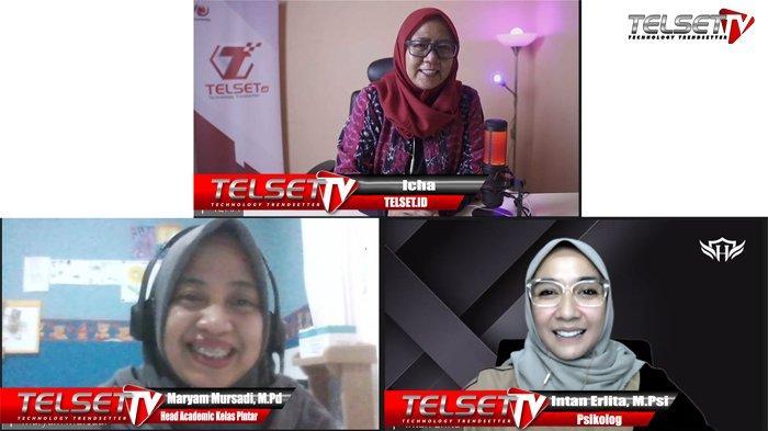 Psikolog Intan Erlita MPsi, dalam acara PODCAST Telset TV.