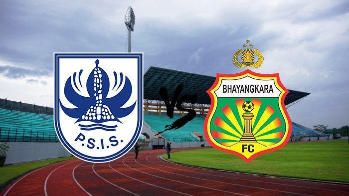 Sedang Berlangsung Live Streaming PSSI TV, PSIS Semarang vs Bhayangkara FC, Skor Sementara 1-0