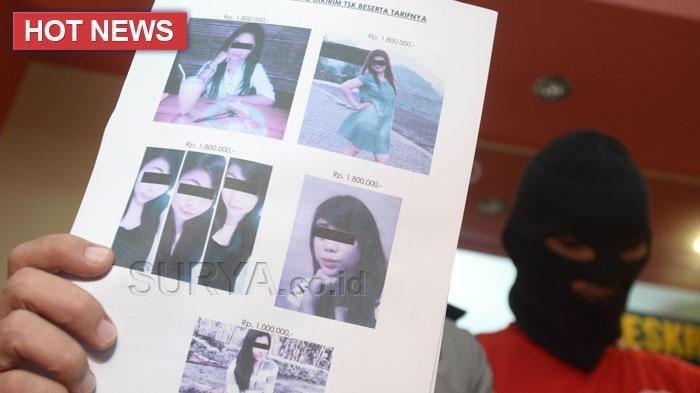 Dua Artis Ditangkap Terkait Dugaan Prostitusi, Ini Penampakan Mereka Saat Diperiksa Polisi