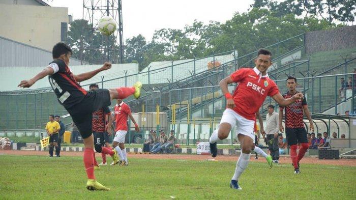 Pertandingan final Liga 3 201 mempertemukan antara PSKC Cimahi kontra Persijap Jepara, Minggu (29/12/2019).