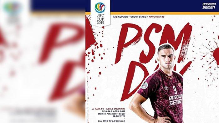 Link Live Streaming MNCTV - Live Streaming PSM vs Kaya FC, Siaran Langsung Piala AFC 14.30 WIB!