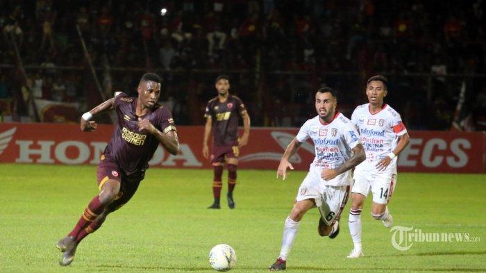 PSM Makassar berhasil menang tipis 1-0 atas Bali United pada lanjutan Liga 1 2019 di Stadion Andi Mattalatta, Sabtu (23/11/2019). (Tribun Timur/Muhammad Abdiwan)