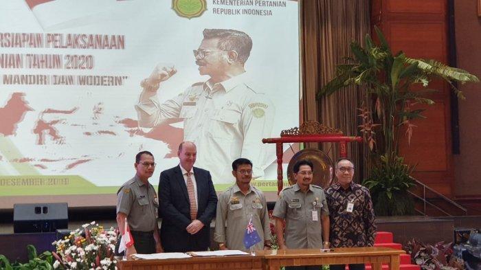 Penandatanganan MoU Ditjen PSP Kementan dan Bank Mandiri, Mewujudkan Pertanian Maju Mandiri & Modern