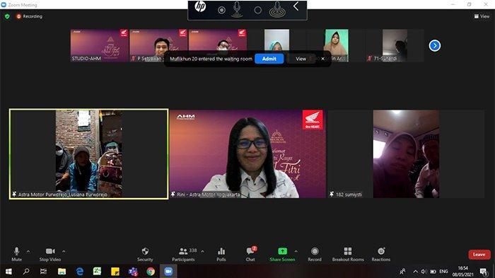 Silaturahmi Akbar Virtual AHM, Pertemukan Pelanggan dengan Keluarga di Kampung Halaman