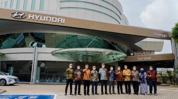 Incar Pasar Jawa Barat, Hyundai Resmikan Dealer Baru di Depok