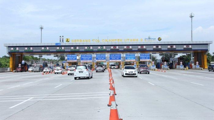 144.550 Ribu Kendaraan Menuju Jakarta di Hari Kedua Tahun 2021, 55,4 Persen dari Arah Timur