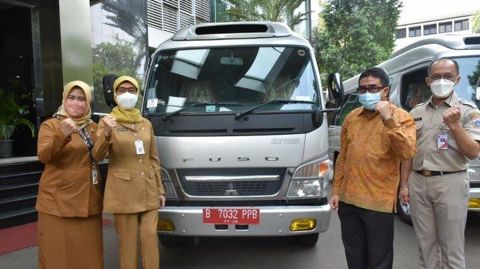 Empat Mitsubishi Fuso Espasio Siap Bantu Penanganan Covid-19 di DKI Jakarta