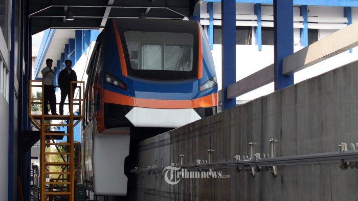 Jakpro Pastikan Proyek Pembangunan LRT Jalan Terus