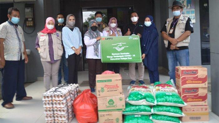 LPKR Berikan Bantuan Bagi Warga Terdampak Covid-19 di Sekitar Lippo Village