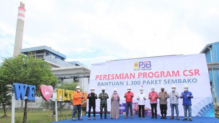 PLTU Tenayan Luncurkan Program CSR Perlindungan Sosial Bersama Gubernur Riau