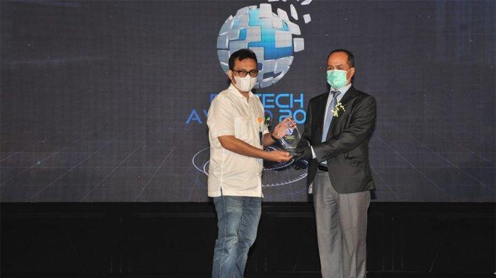 Pos Indonesia Raih 2 Penghargaan Digital Technologi & Innovation Award 2021