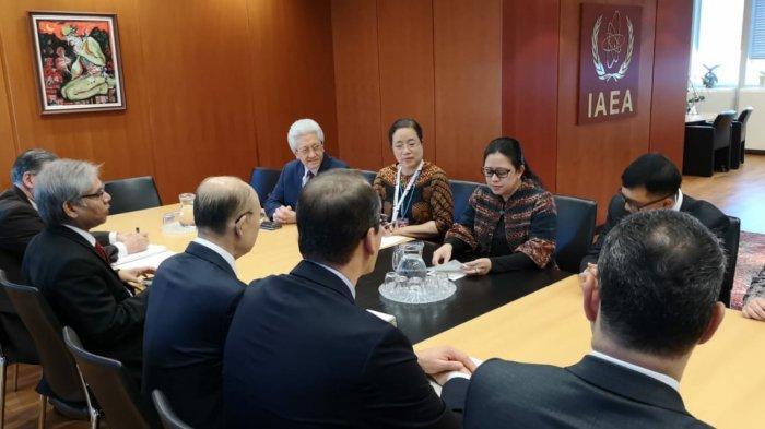 Bertemu Dirjen IAEA, Menko PMK Beberkan Pemanfaatan Teknologi Nuklir Masyarakat Indonesia