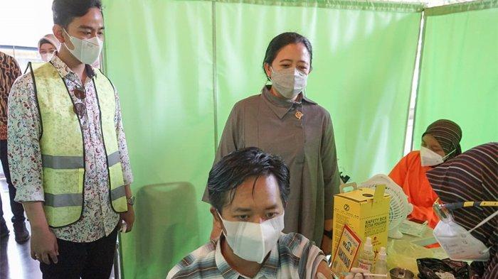 Puan Maharani Bawa 20.000 Dosis Vaksin Covid-19 untuk Warga Solo, Boyolali, Sukoharjo dan Klaten