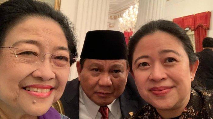 Puan Maharani foto selfie bersama ibunya, Megawati Soekarnoputri dan Prabowo Subianto.