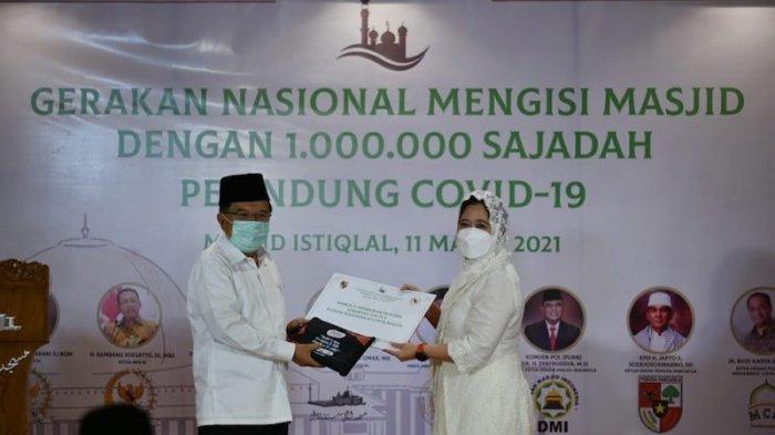 Gerakan 1 Juta Sajadah Pelindung Covid-19, Puan Harap Masyarakat Lebih Tenang Beribadah di Masjid