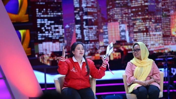 Menko Puan Hadiri Launching Program Rumah Pemilu Kompas