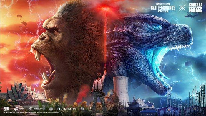 Godzilla Vs Kong Hadir di Versi Pembaruan PUBG Mobile
