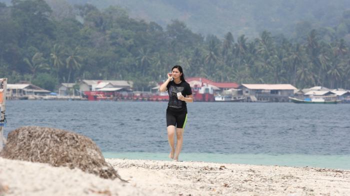 Pulau Tangkil Resort Tawarkan Meriahnya Pesta Kembang Api di Pantai Saat Malam Tahun Baru