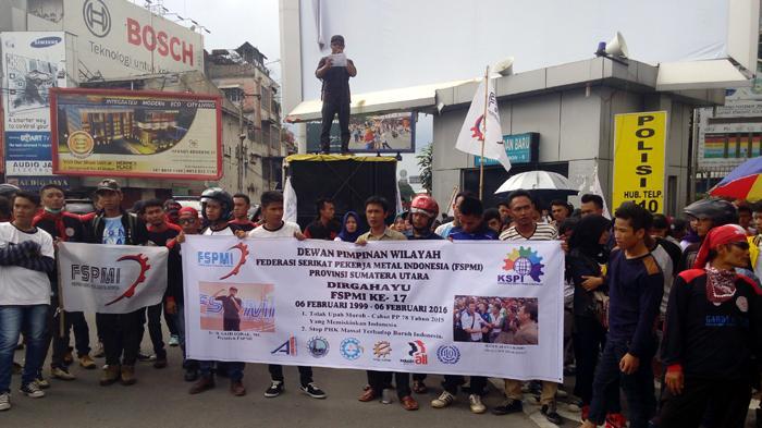 FSPMI: PP No 78 Tahun 2015 Tak Berpihak kepada Buruh